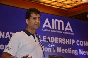 Rajiv Bajaj at AIMA's NLC