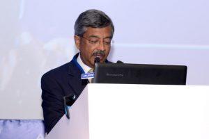 Pramod Bhasin, Founder, Genpact and Chairman, The Skills Academy addressing