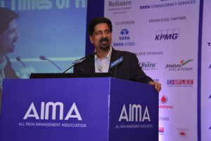 Kris Srikkanth at AIMA's 42nd NMC
