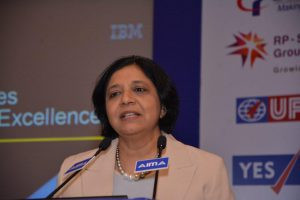 Vanitha Narayanan, Managing Director, IBM India addressing AIMA's NLC 2015