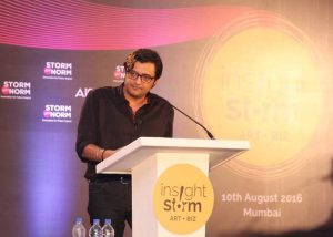 Arnab Goswami sharing his Insights & Stories at InsightStorm