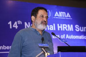 Mohandas Pai at AIMA's 14th National HRM Summit