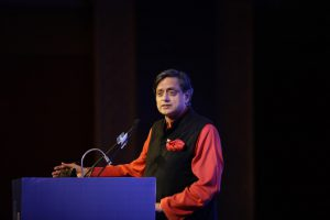 shashi tharoor speaking on India's Soft Power