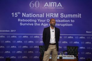 Navi Radjou at AIMA's 15th National HRM Summit