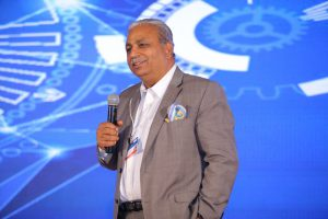 C P Gurnani at AIMA's NLC