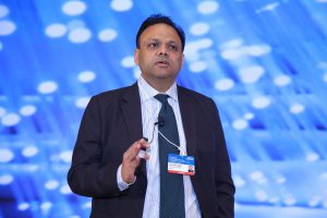 Arvind Gupta, CEO, MyGov addressing AIMA's 4th National Leadership Conclave